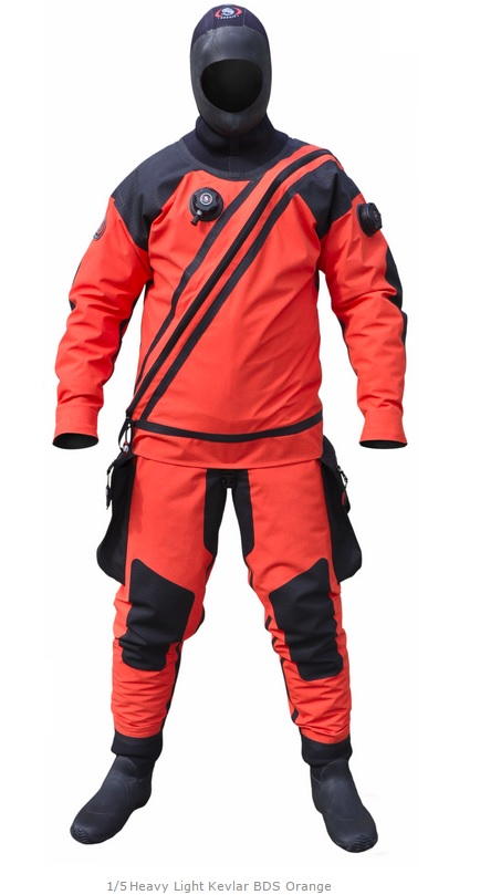 Suchý oblek Ursuit Heavy Kevlar BDS Orange a95519957f