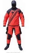 Suchý oblek Ursuit Heavy Kevlar BDS Orange