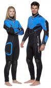 Polosuchý oblek pro potápěče SD4 WaterProof  dámský včetně kukly H1 5/7mm