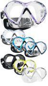 Potápěčská maska,brýle Vibe 2 dvouzorníková Subgear v několika barvách