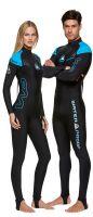 Lycrový oblek superstretch Waterproof, ideální pro potápění, surfing, paddleboarding, Man